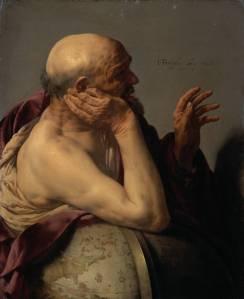 The Greek philosopher Heraclitus of Ephesus