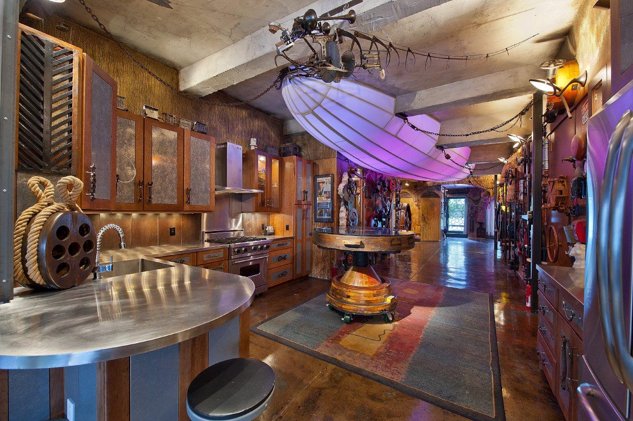 Steampunk design the professor 39 s convatorium for Steampunk kitchen accessories