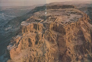 The Masada fortress