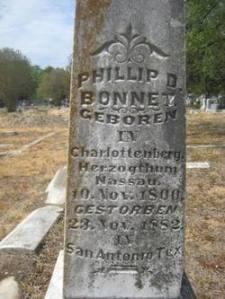 Grave_Philipp Daniel Bonnet