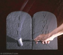 fictional stone tablets