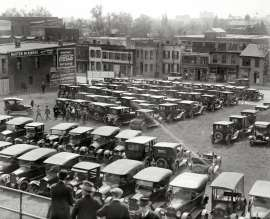 1923 parking lot