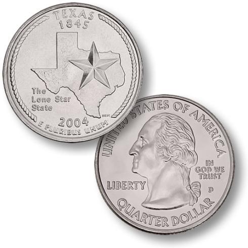 2004 Texas state Quarter
