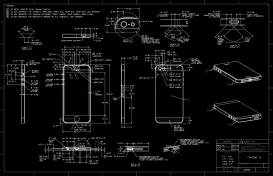 cell phone blueprint