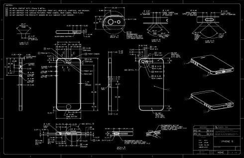 cell phone blueprint