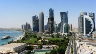 View-of-Doha-Skyscrapers