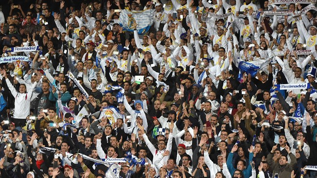 Real Madrid FC supporters