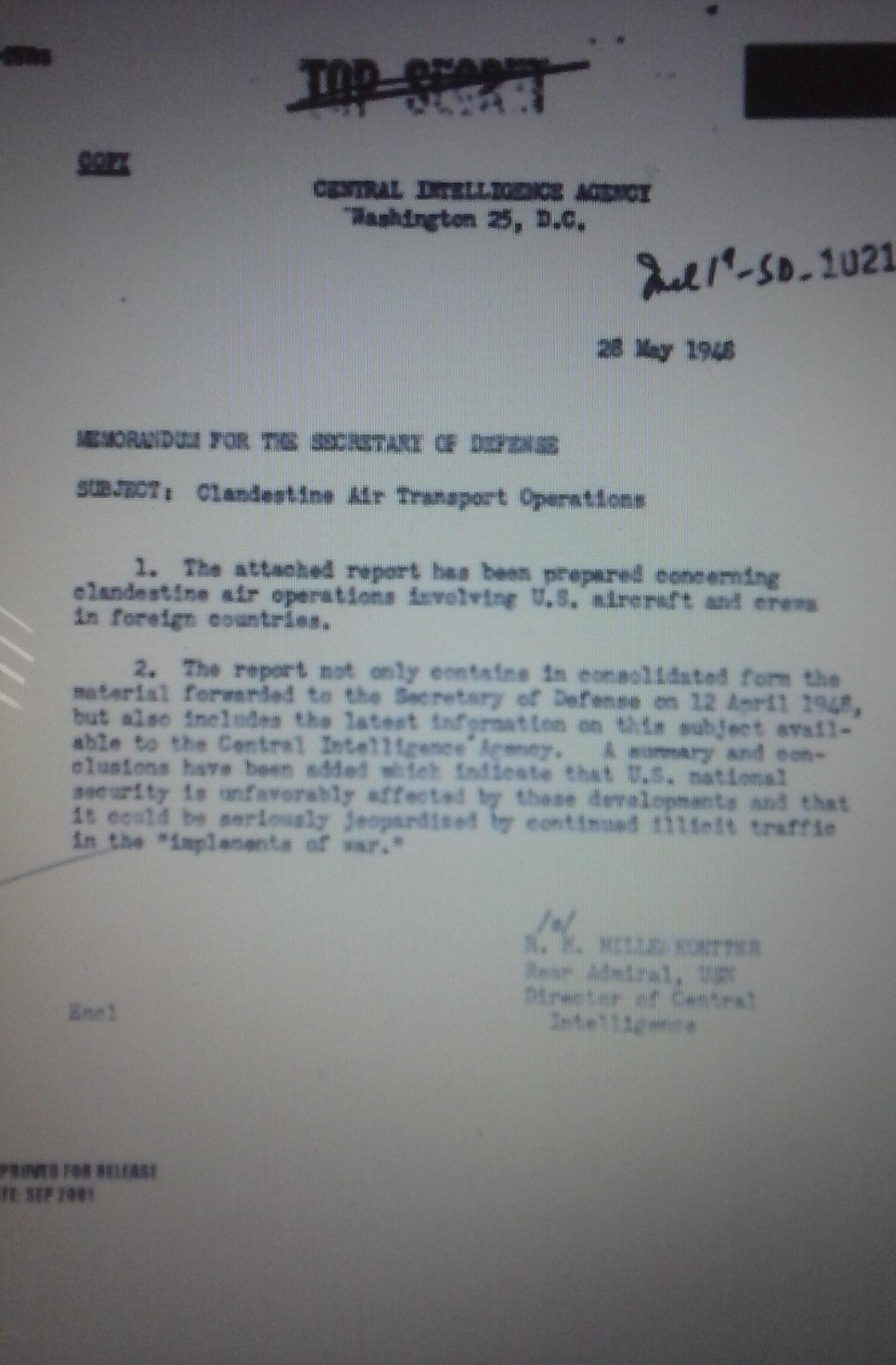 CIA Memo 655104p1