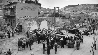Palestinian refugees_Amman_1949