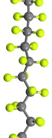 perfluorodecyl-chain