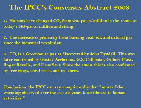 IPCC Abstract
