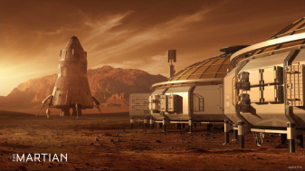 The Martian - base station