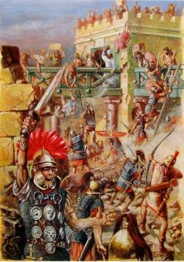 Rome takes Jerusalem