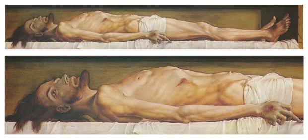 Body of jesus the man