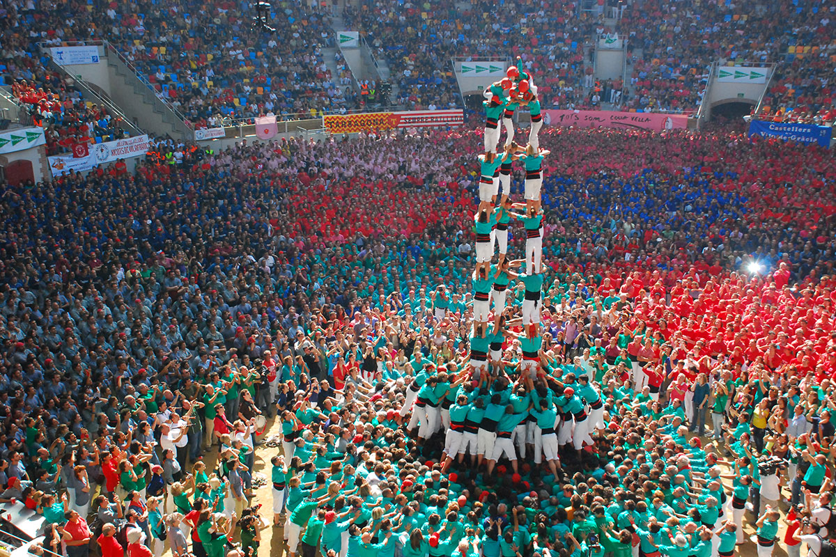 Catalan human-towers