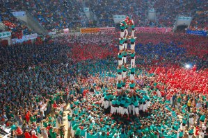 Catalan human-towers