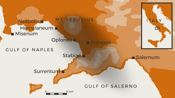 Vesuvius-79 CE eruption