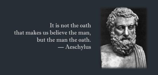 Aeschylus quote