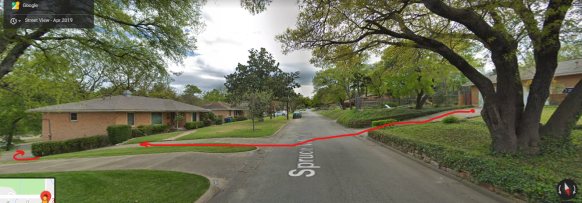 Dallas childhood home-driveway_2