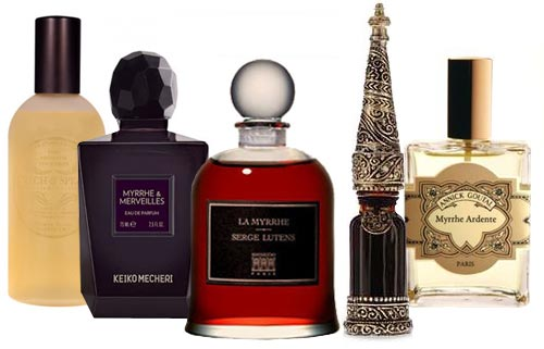 perfumes with myrrh