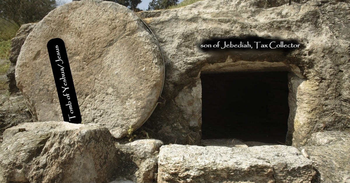 The Tomb of A Jesus