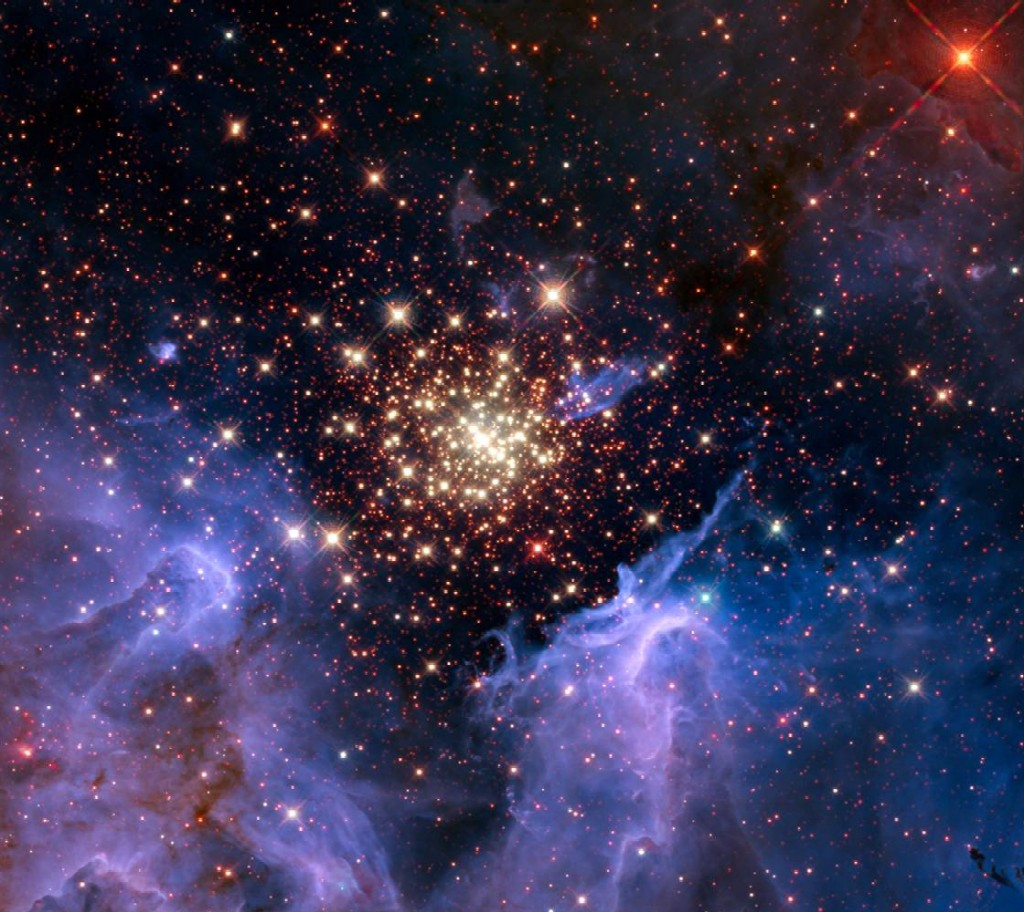 NGC 3603 star-cluster